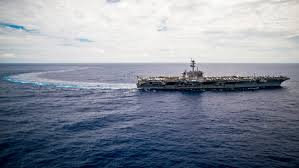 does us carrier u0027s about face in asia signal impending north korea