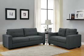 homelegance ashmont sofa set dark grey linen u9639 3