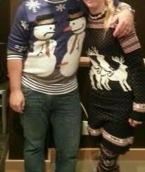 sexual sweaters snowmen reindeer chistmas sweater motley