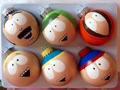 pretty freaking awesome south park set of four painted