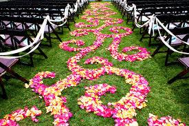 petal aisle runner wedding trend inspiration petal aisle runner houston wedding