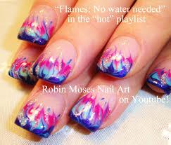robin moses nail art marble nails with no water needed