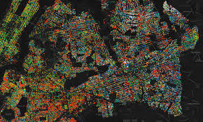 Street Map Of Queens New York by Vivid Map Pinpoints Every Street Tree In Nyc Wired