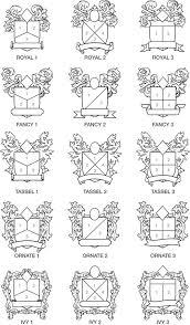 family crest factory design form
