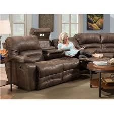 Power Leather Recliner Sofa Legacy Faux Leather Reclining Power Sofa W Dropdown And
