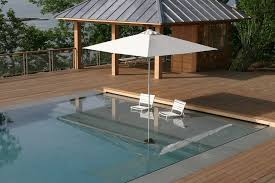 umbrella coral look other metro eclectic pool decoration ideas