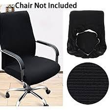 pour fauteuil de bureau btsky housse sobre et moderne en tissu élastique résistant pour