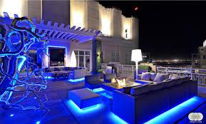 modern sf house pool area lighting design rukle home depot outdoor