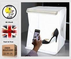 led strip light photography portable photography lighting cube tent photo studio light box led