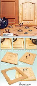 Cabinet Door Construction Duper Door Construction Routing Panels In Solid Wood Cabinet