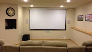 Home Cinema Decorating Ideas by Awesome Setting Up Home Theater Projector Decorating Ideas Cool At
