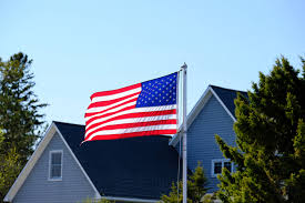 American Flag House Best Suburbs In The Us U2013 Move To America