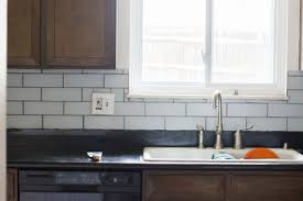 How To Install A Glass Tile Backsplash In The Kitchen Tips And Tricks For Diy Subway Tile Backsplash Installation