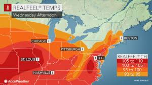 Map Of Mid Atlantic States by Mid Atlantic To Face Sweltering Heat Wave This Week