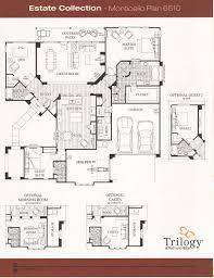 Casita Floor Plan Trilogy At Redmond Ridge Estate Collection Floor Plans