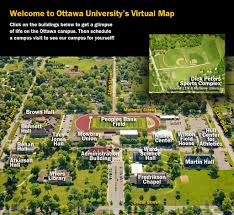 University Of Arizona Map by Ottawa University Ottawa University