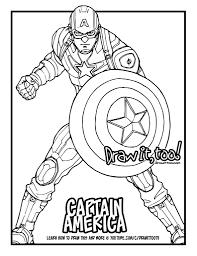 captain america captain america civil war drawing tutorial