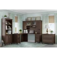 Kathy Ireland L Shaped Desk Kathy Ireland By Bush Desks Computer Tables For Less Overstock
