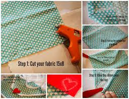 no sew fabric valentine envelope the csi project