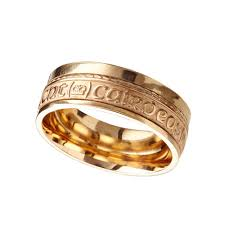 the gents wedding band gents 14kt yellow gold celtic wedding band