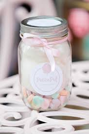 cotton candy wedding favor sweet feature cotton candy with petitepuf the bright