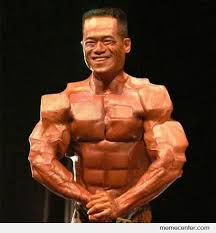 Muscle Memes - cubic muscle by ben meme center