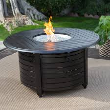 Fire Pit Coffee Table Coffee Table Red Ember Richland 48 In Round Propane Fire Pit Table