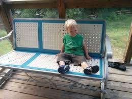 Metal Outdoor Chairs Vintage Slice Of Diy Vintage Metal Patio Furniture Restoration