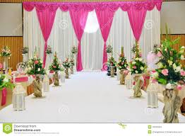 wedding stage stock images image 16648204