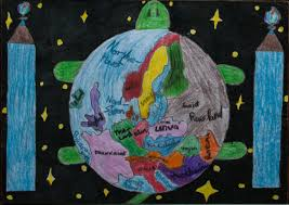 Children S Map Of The World by The World U0027s Shell Children Map Their World