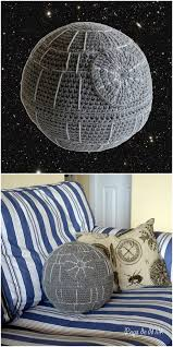 Death Star Rug Crochet Death Star Pillow