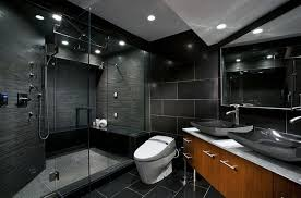 Black Modern Bathroom Modern Black Bathrooms Grousedays Org