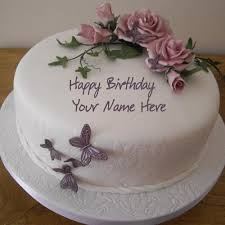 best 1 website for name birthday cakes write your name on