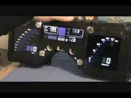 corvette instrument cluster repair corvette c4 digital cluster display with led bulb upgrade