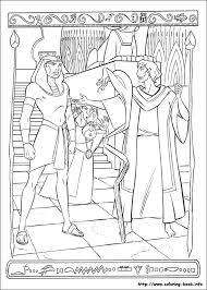 prince egypt coloring picture birthday party