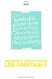 lds quote print mormon print calligraphy art thomas s