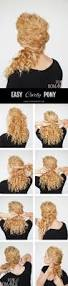 best 25 curly side ponytails ideas on pinterest bridesmaid side