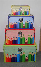 Wholesale Customized Home Decor Storage Boxes Wooden Toy Chest