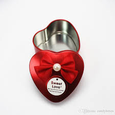 heart shaped candy boxes wholesale heart shaped candy box bowknot wedding decorations wedding favor