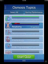 App For Anatomy And Physiology Osmosis Med Iphone And Ipad Medical App Review