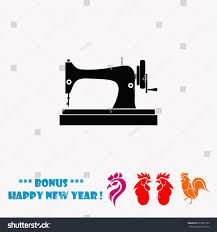 sewing machine vector icon stock vector 523321753 shutterstock