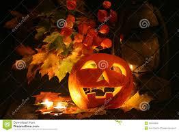 halloween scenes image gallery of fall leaves and halloween pumpkins