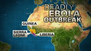west africa map ebola ebola outbreak in west africa declared an international health