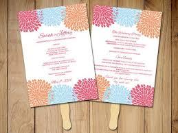Wedding Program Template Fan The 25 Best Diy Wedding Program Fans Ideas On Pinterest Fan