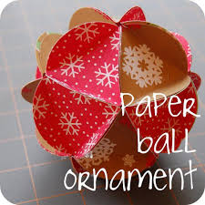 ornaments to make paper paper decoration