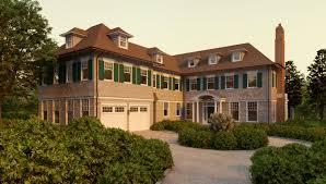 Cape Style House Plans Style Home Plans Nantucket Shingle House Narrow Plan Hahnow