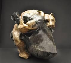 bull and bear sculpture i stock market wall street i john maisano