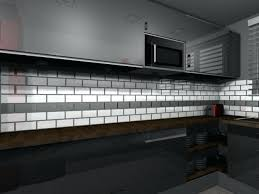 credence cuisine metro credence carrelage noir credence cuisine carrelage metro faience