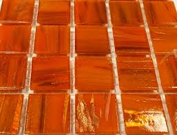 golden orange color 75 x 20mm tile gold dust sheets gold dust tiles 20mm