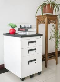 White Wood File Cabinets Furniture Best Wood Filing Cabinets For Your Furniture Design